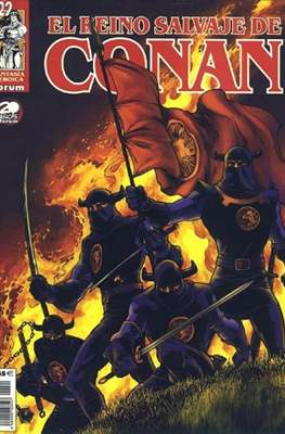 El Reino Salvaje de Conan (Grapa 48-80 pp) #22