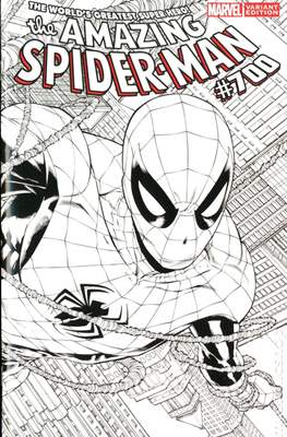 The Amazing Spider-Man (Vol. 2 1999-2014 Variant Covers) (Grapa) #700O