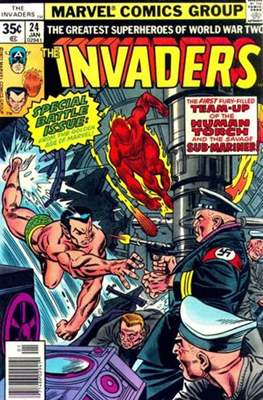 The Invaders (Comic Book) #24