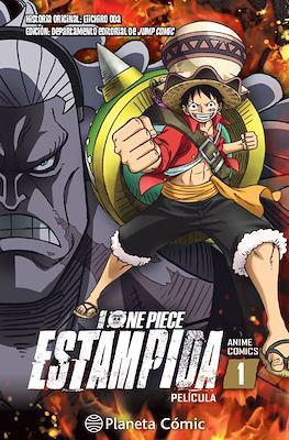 One Piece Estampida Anime Comic (Rústica) #1