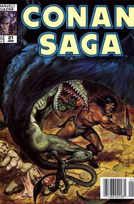 Conan Saga (Comic-book) #21