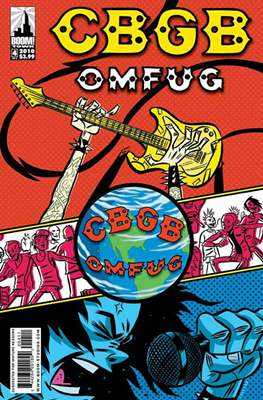 CBGB OMFUG (Comic Book) #4