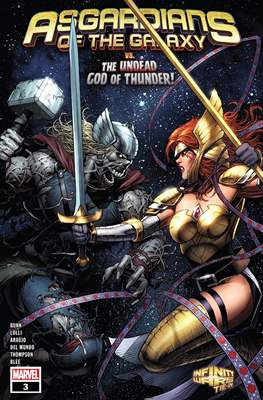 Asgardians of the Galaxy (Comic Book) #3