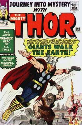 Journey into Mystery / Thor Vol 1 (Comic Book) #104