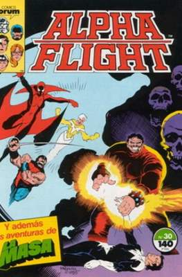 Alpha Flight vol. 1 / Marvel Two-in-one: Alpha Flight & La Masa vol.1 (1985-1992) (Grapa 32-64 pp) #30