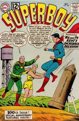 Superboy Vol.1 / Superboy and the Legion of Super-Heroes (Comic Book) #100