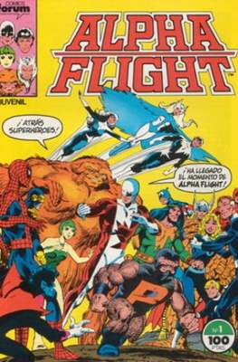 Alpha Flight Vol. 1 / Marvel Two-in-one: Alpha Flight & La Masa Vol.1 (1985-1992) (Grapa 32-64 pp) #1