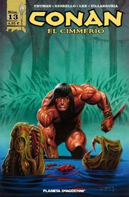 Conan el Cimmerio (Grapa 24-48-72 pp) #13