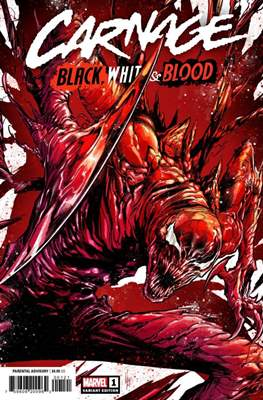 Carnage: Black, White & Blood (Variant Cover) #1.2