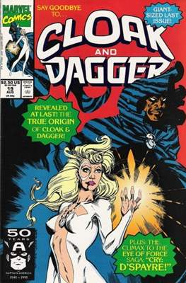 Cloak and Dagger Vol. 3 (1988-1991) (Comic-book.) #19