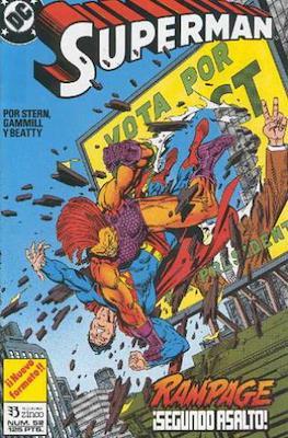 Superman Vol. 2 (1987-1993). El hombre de acero / Superman (Grapa 36 pp) #52