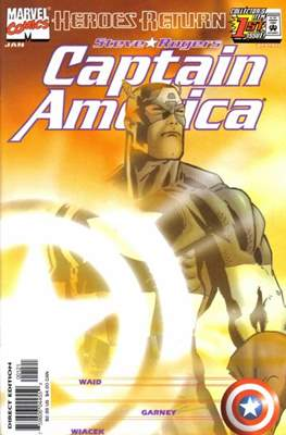 Captain America Vol. 3 (1998-2002 Variant Cover) (Comic Book) #1