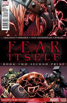 Fear Itself (Variant Cover) (Comic Book) #2.1