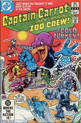 Captain Carrot and his amazing Zoo Crew (Comic Book) #13