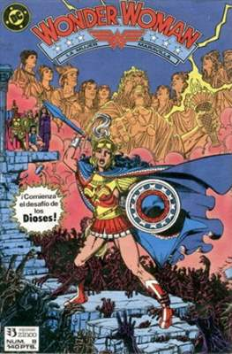 Wonder Woman (1988-1991) (Grapa, 32-64 pp) #8