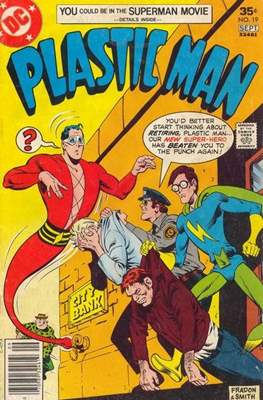 Plastic Man vol.2 (1966-1977) (Grapa, 32 págs.) #19