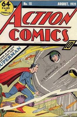 Action Comics Vol. 1 (1938-2011; 2016-) (Comic Book) #15