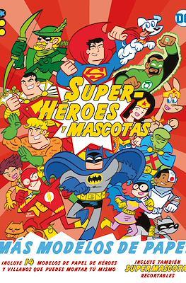 Superhéroes y mascotas: ¡Más modelos de papel! (Rústica 48 pp) #