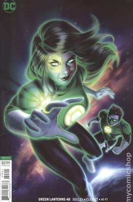 Green Lanterns (Vol. 1 2016-... Variant Covers) (Comic Book) #48