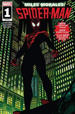Miles Morales: Spider-Man (2018) (Comic Book) #1