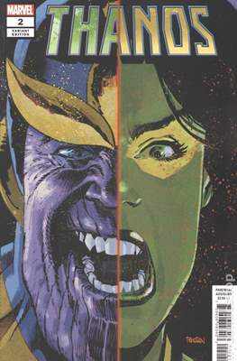 Thanos (2019 Variant Cover) (Comic Book) #2.1
