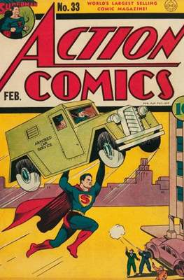 Action Comics Vol. 1 (1938-2011; 2016-) (Comic Book) #33