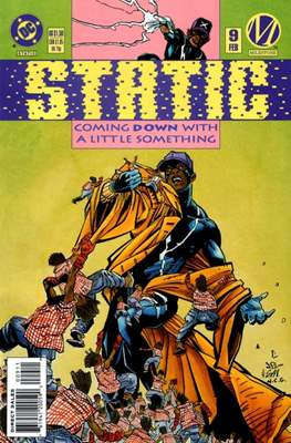 Static (Comic Book) #9