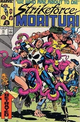 Strikeforce Morituri (Comic-book.) #15