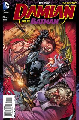 Damian: Son of Batman (2013-2014) (Comic Book) #3