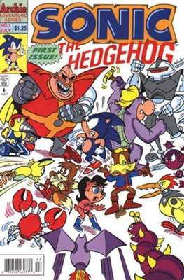Sonic the Hedgehog (Grapa) #1