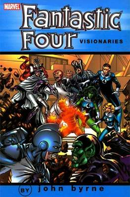 Fantastic Four Visionaries: John Byrne (Softcover) #5