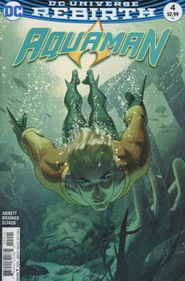 Aquaman Vol. 8 (2016-2021) Variant Cover) #4.1