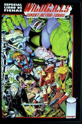 WildC.A.T.S Covert-Action-Teams. Especial libro de fichas