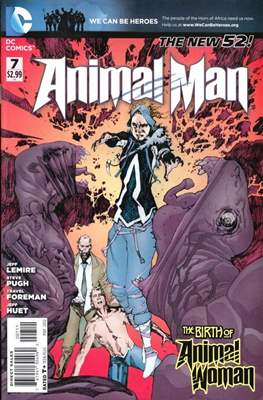 Animal Man Vol. 2 (2011-2014) (Comic Book) #7