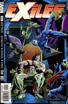 Exiles Vol. 1 (2001-2008) (Comic Book) #15