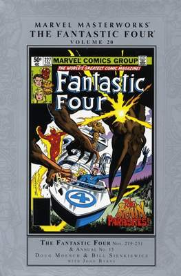 Marvel Masterworks: The Fantastic Four (Hardcover) #20