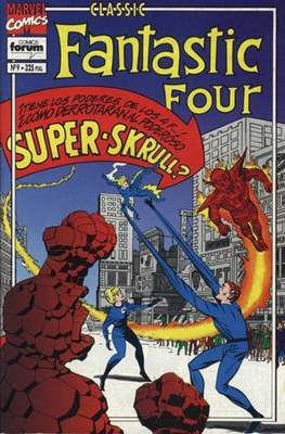 Fantastic Four Classic / Classic Fantastic Four (1993-1994) (Rústica 48 pp) #9