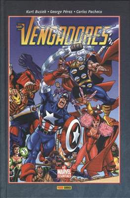 Los Vengadores. Best of Marvel Essentials (Cartoné, 208 páginas) #1