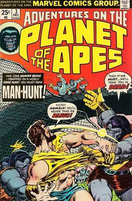 Adventures on the Planet of Apes #3