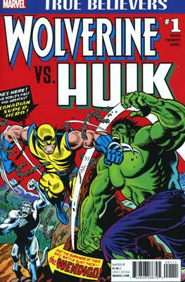 True Believers: Wolverine vs. Hulk