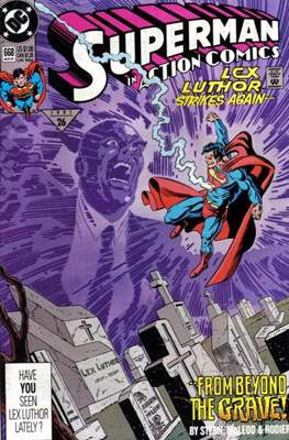 Action Comics Vol. 1 (1938-2011; 2016-) (Comic Book) #668