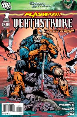 Flashpoint: Deathstroke and the Curse of the Ravager Vol 1 (Grapa) #1