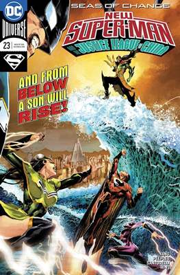 New Super-Man (Comic-Book) #23