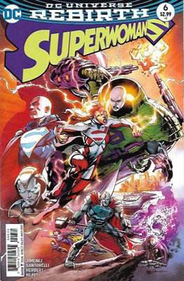 Superwoman (2016-2018) (Comic-book) #6