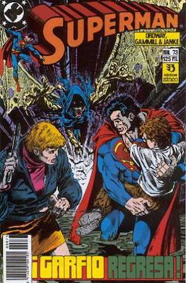 Superman Vol. 2 (1987-1993). El hombre de acero / Superman (Grapa 36 pp) #73