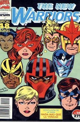 The New Warriors vol. 1 (1991-1995) (Grapa. 17x26. 24 páginas. Color. (1991-1995).) #25
