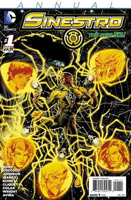 Sinestro New 52 Annual