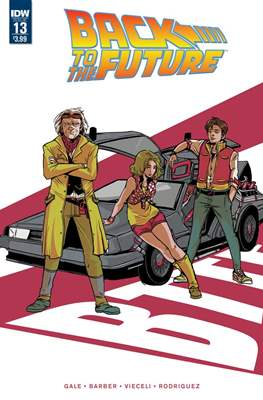 Back to the Future (Comic-book) #13