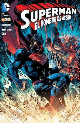 Superman: El hombre de acero (2013-2015) (Grapa) #8