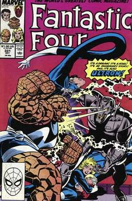 Fantastic Four Vol. 1 (1961-1996) (saddle-stitched) #331